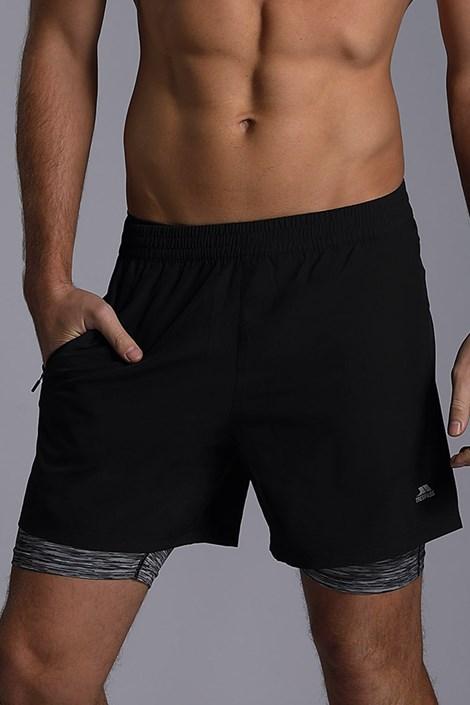 Pantalon scurt functional Patterson, negri