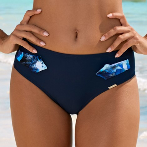 Slip costum de baie Maya Blue