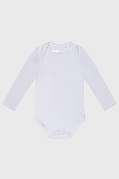 Body copii Baby alb cu mânecă scurtă