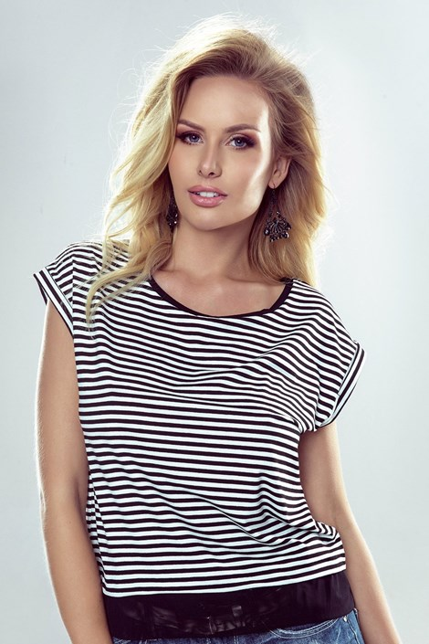 Tricou dama Natalia, model dungat