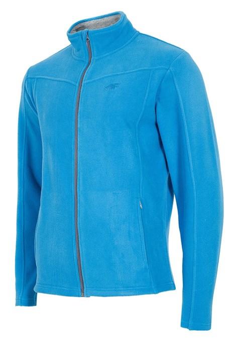 Bluza sport barbateasca Blue, material fleece