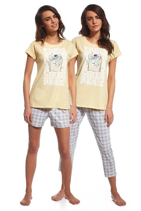 Set pijamale 3 piese Parfum