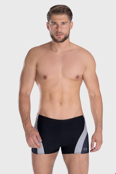 Boxeri de baie Philip negru-gri