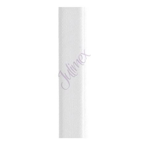 Bretele textile 18 mm albe