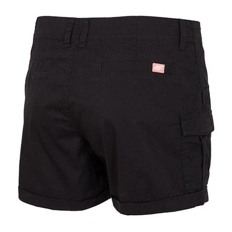 Pantalon scurt sport de dama 4f Black cotton