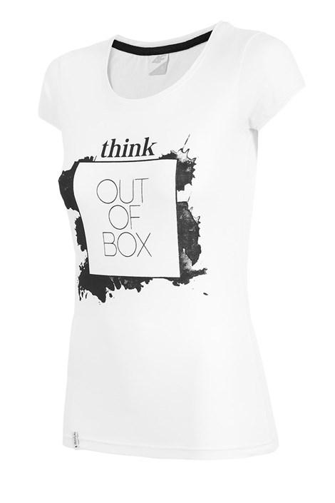 Tricou sport de dama 4F Think out of box