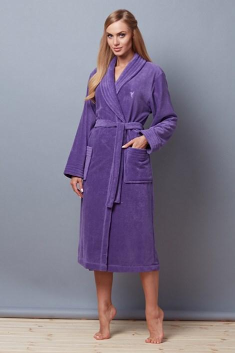 Capot dama Telimena Violet, din fibre de bambus