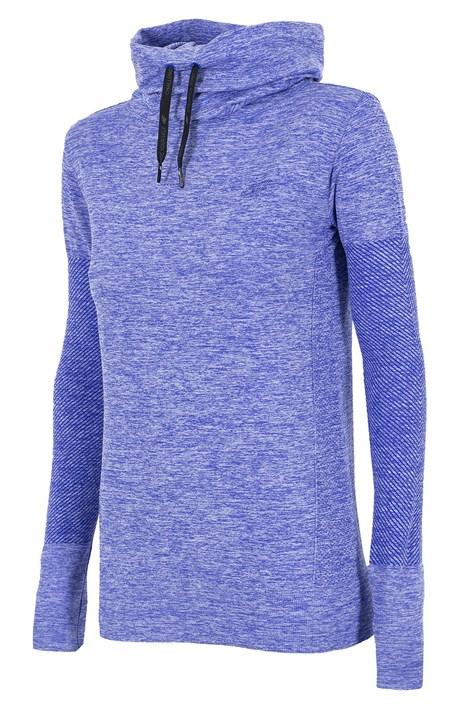 Bluza dama 4F cu guler, material functional