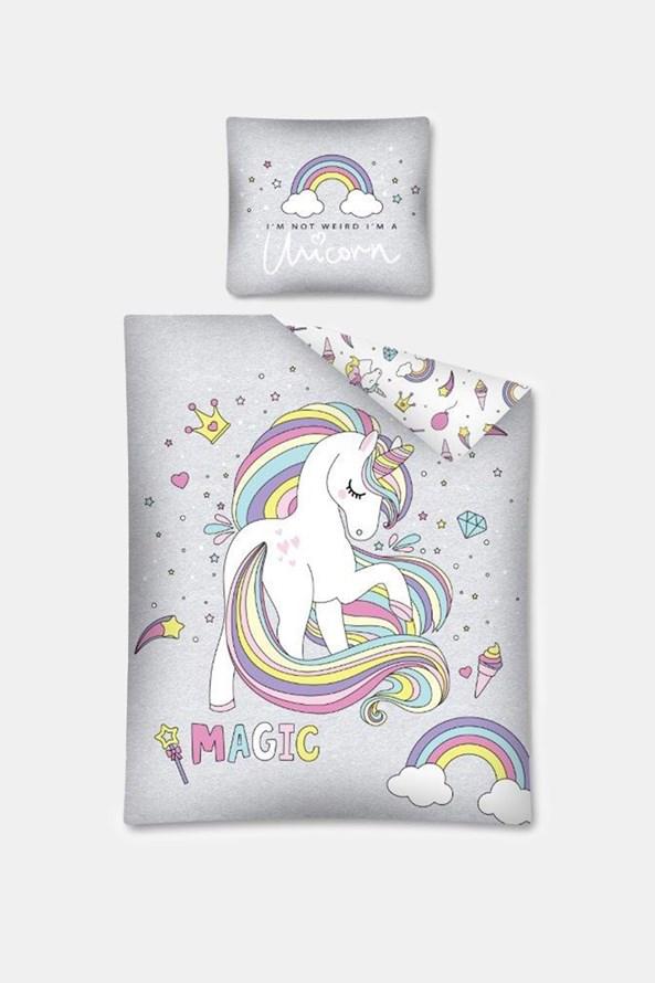 Lenjerie de pat Unicorns pentru copii, strălucește în întuneric