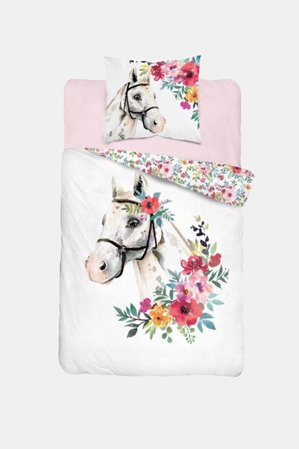 Lenjerie de pat pentru fetiţe Horse