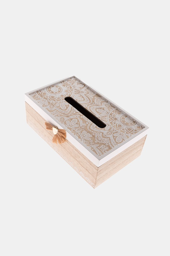 Cutie din lemn pentru şerveţele