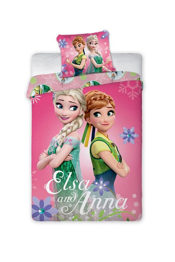 Lenjerie de pat pentru copii Frozen Sisters