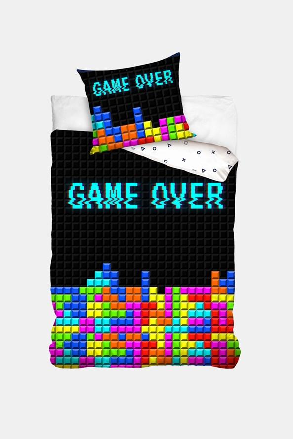 Lenjerie de pat pentru copii Game Over