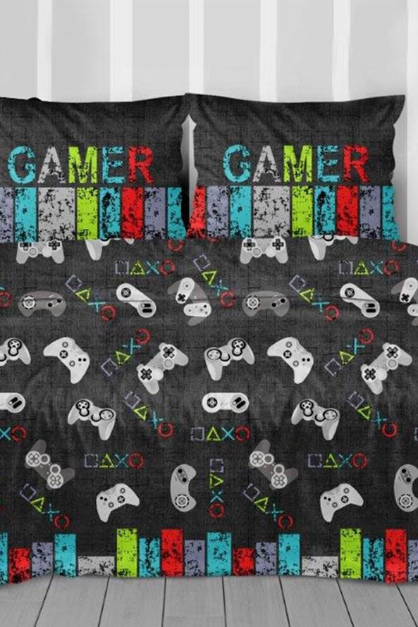 Lenjerie de pat Dark Gamer