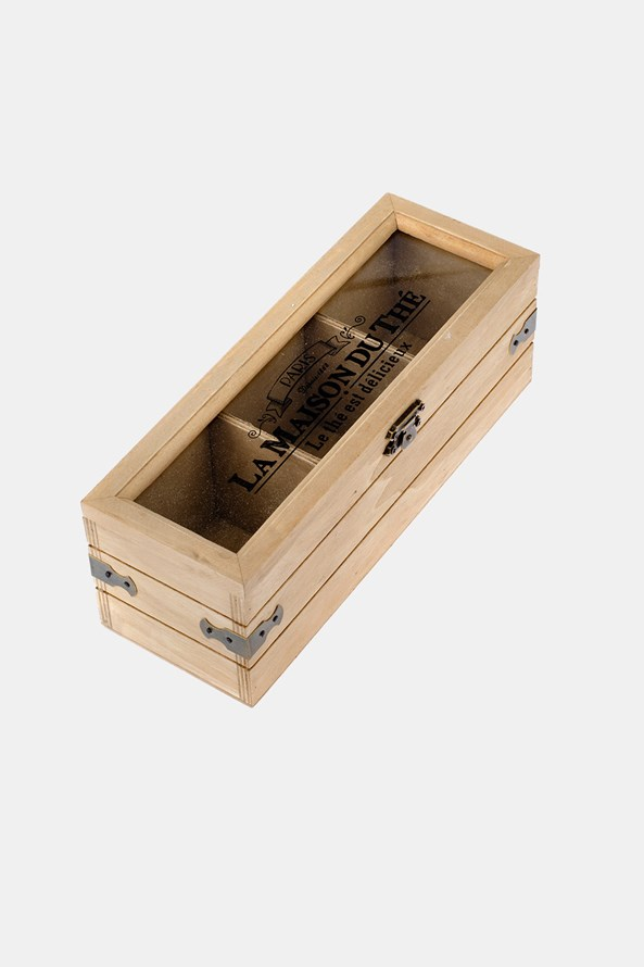 Cutie mică din lemn pentru ceai