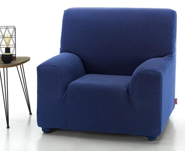 Husa Milos pentru fotoliu, albastru