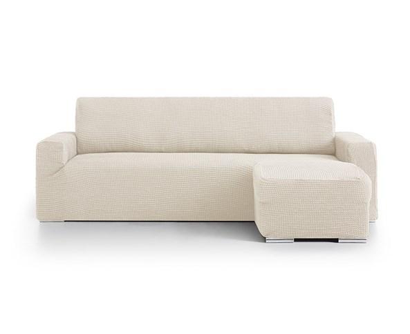 Husa pentru canapea coltar crem - dreapta