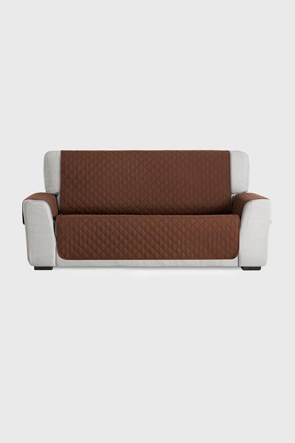 Husa pentru canapea cu doua locuri Moorea, maro