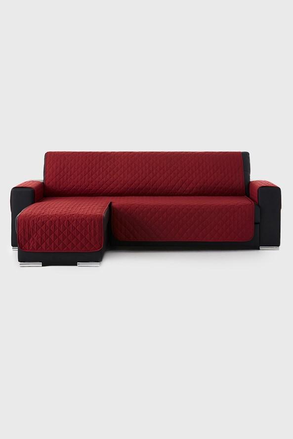 Husă pentru canapea cu colțar pe partea stângă, Moorea, roșie
