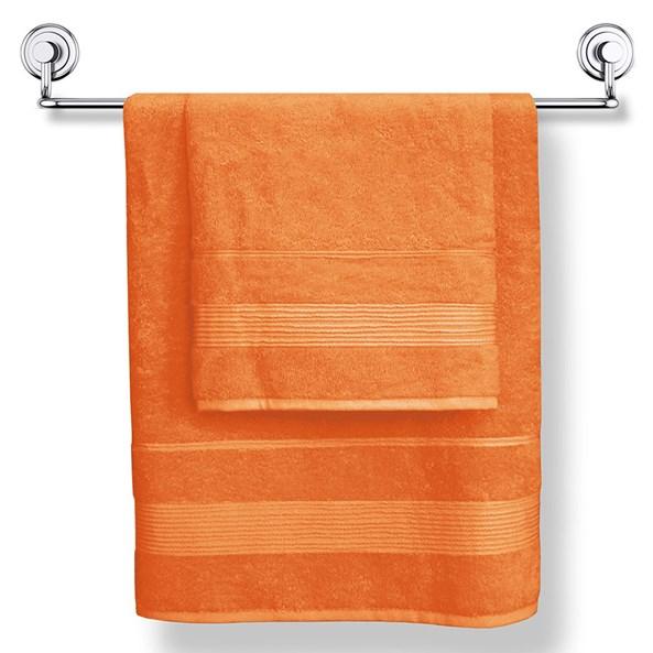Prosop Moreno oranj, material cu fibre de bambus