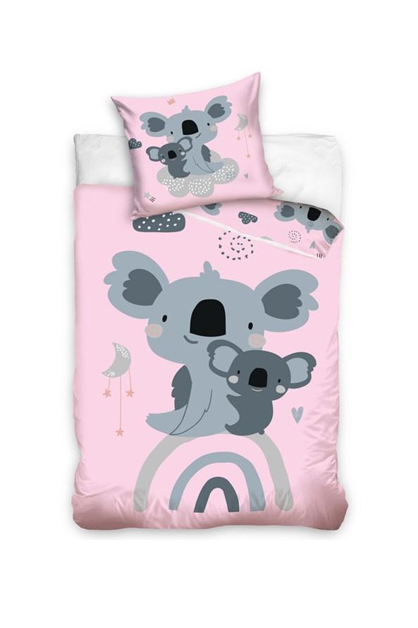Lenjerie de pat pentru copii Koala