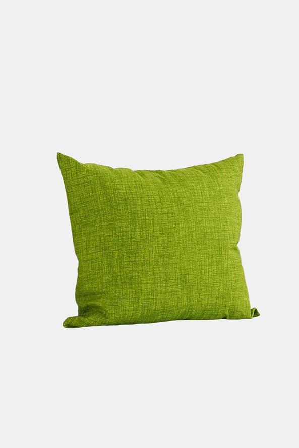 Perna decorativă cu umplutură, verde