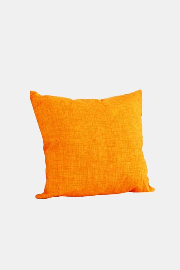 Perna decorativa cu umplutura, portocaliu
