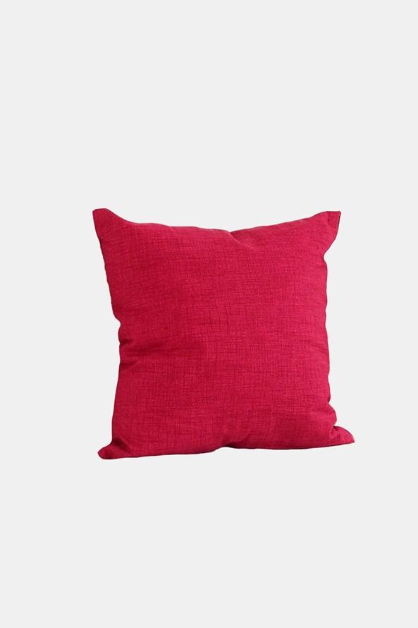 Perna decorativa cu umplutura, rosu