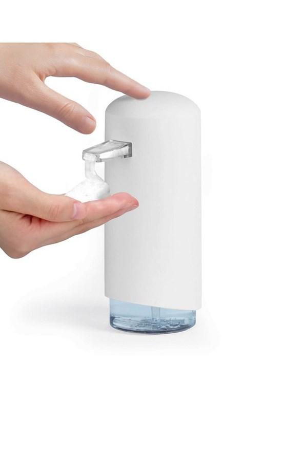 Dozator sapun spuna Compactor, alb