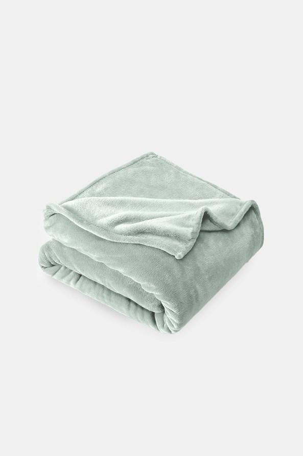 Pătură micro-pluș, gri