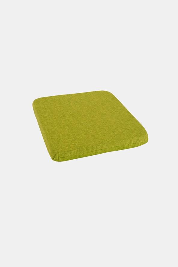 Pernă de scaun verde
