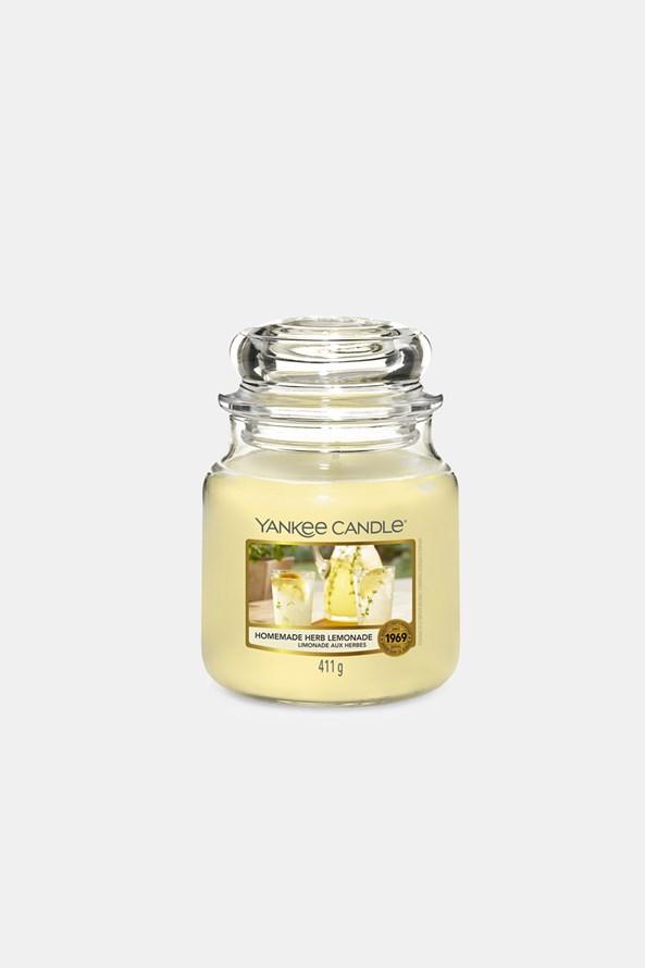 Lumânare medie Yankee Candle Homemade Herb Lemonade