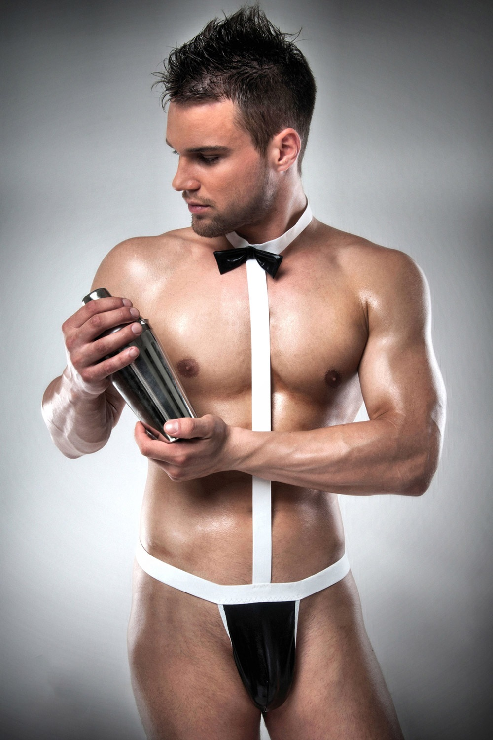 Body erotic barbatesc Waiter