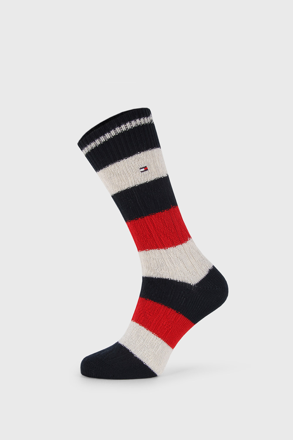 Sosete lungi Tommy Hilfiger Cable Rugby