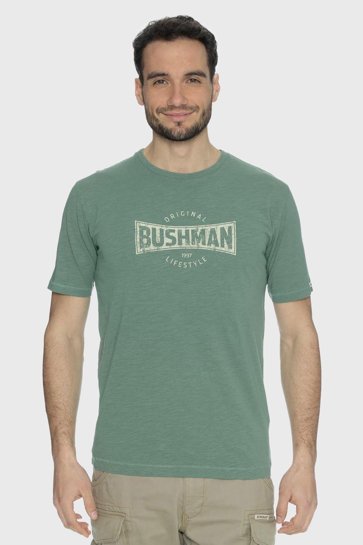 Tricou Bushman Symbol verde