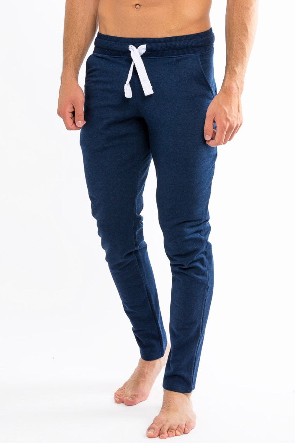 Pantalon trening barbatesti MF Blue