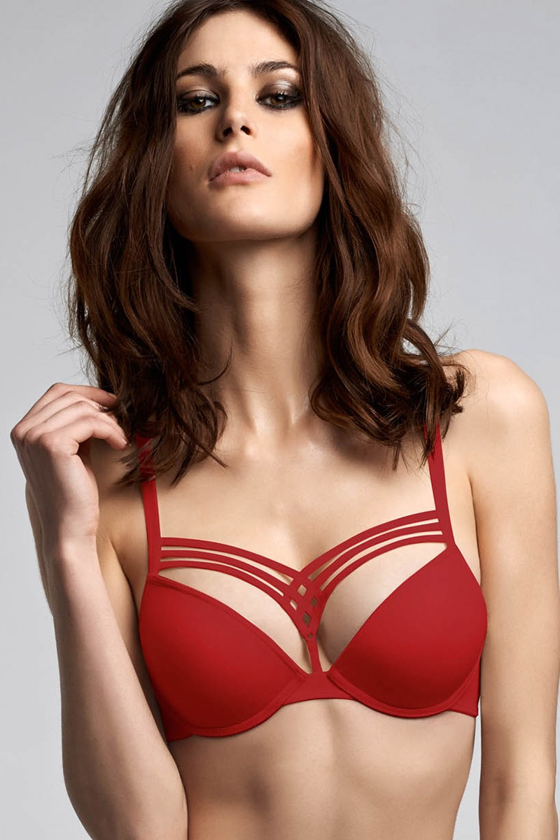Sutien Marlies Dekkers Red Push-Up