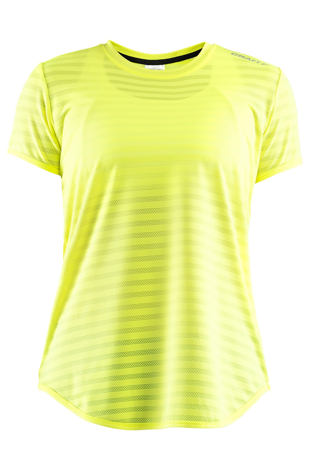 Tricou CRAFT Run Breakaway Two, galben-neon