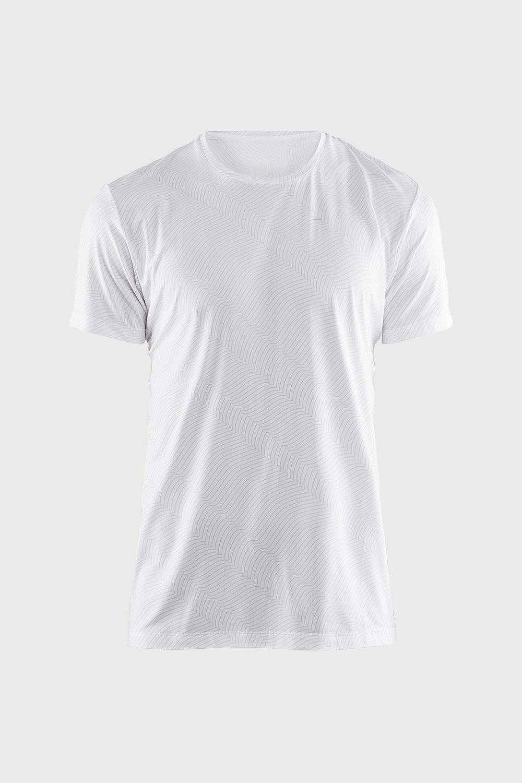 Tricou barbatesc CRAFT Essential alb, cu model de la Craft