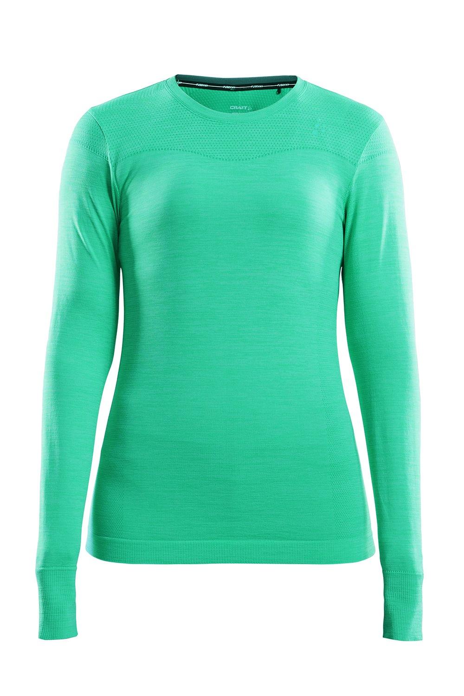 Bluza dama Craft Fuseknit Comfort, verde vibrant de la Craft