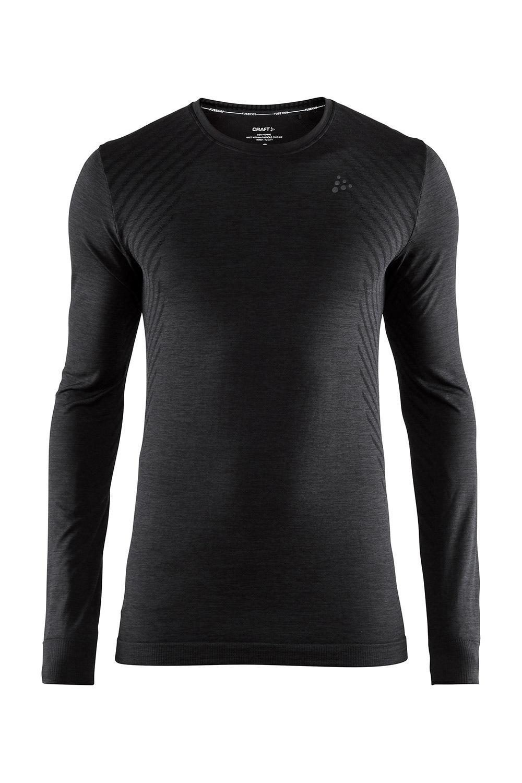 Bluza barbateasca CRAFT Fuseknit Comfort Black de la Craft