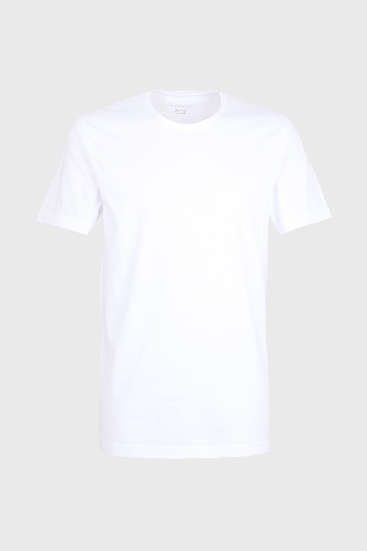 2 PACK tricou bărbătesc bugatti O-neck, alb