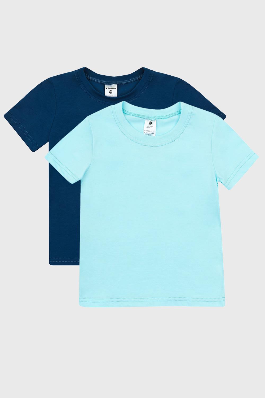 2 PACK tricou pentru băieți albastru