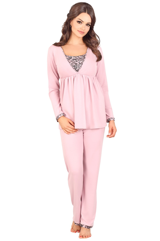 Pijama Tierra, sarcina si alaptare