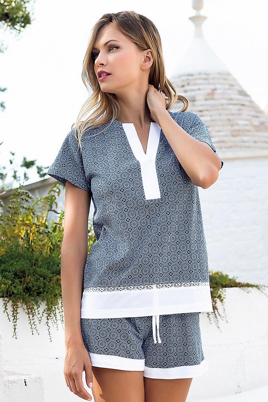 Pijama dama Creta, scurta