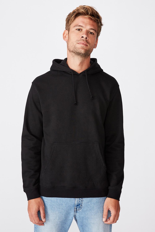 Hanorac Essential Fleece, negru
