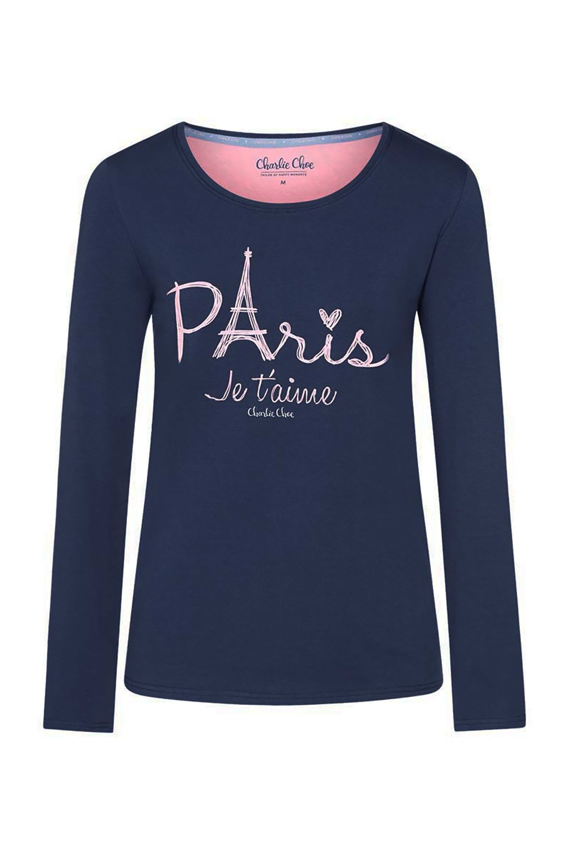 Bluza de pijama Paris de la Charlie Choe