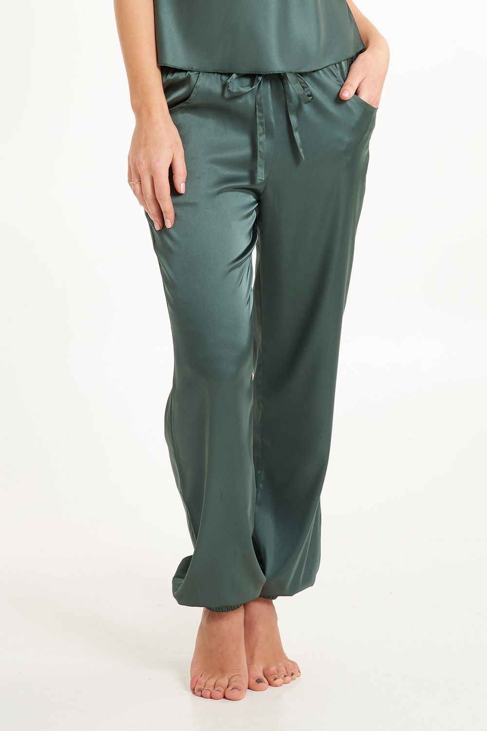Pantalon satinat de pijama Secret Delight