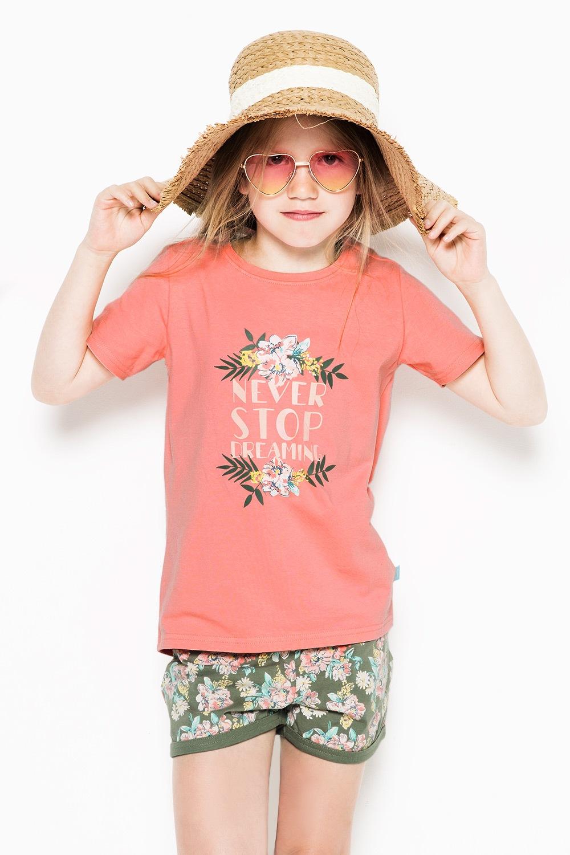 Pijama Flowers pentru fetite de la Charlie Choe