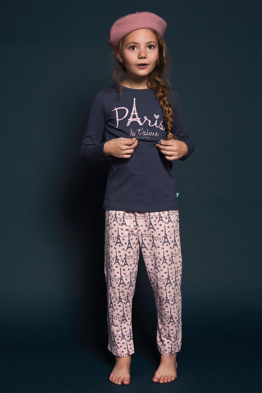 Pijama fetite Paris 01 de la Charlie Choe
